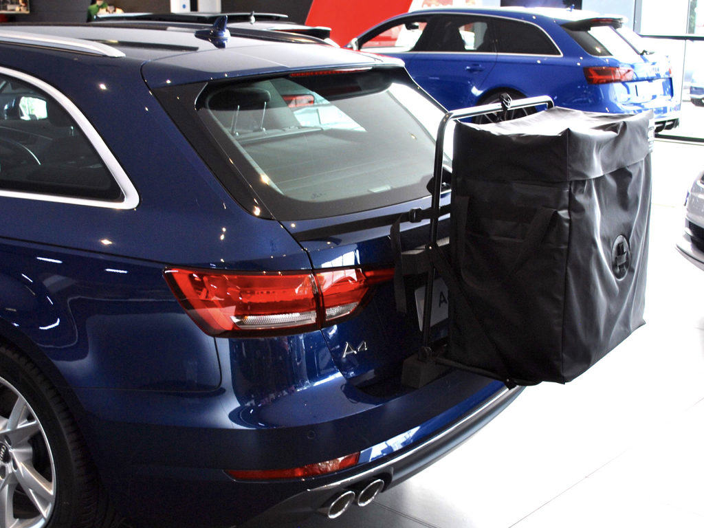Audi A4 Estate Roof Box No Bars No Clamps No Hassle