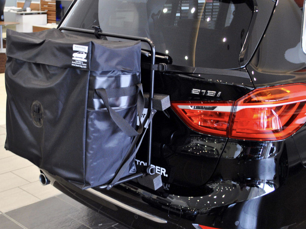 BMW Roof Box on bmw 2 series active tourer
