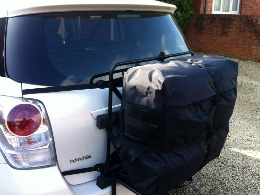 Toyota Verso Roof Box 125 Litres Of Extra Space No Roof Bars