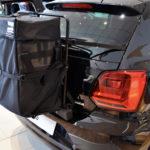 VW polo roof box