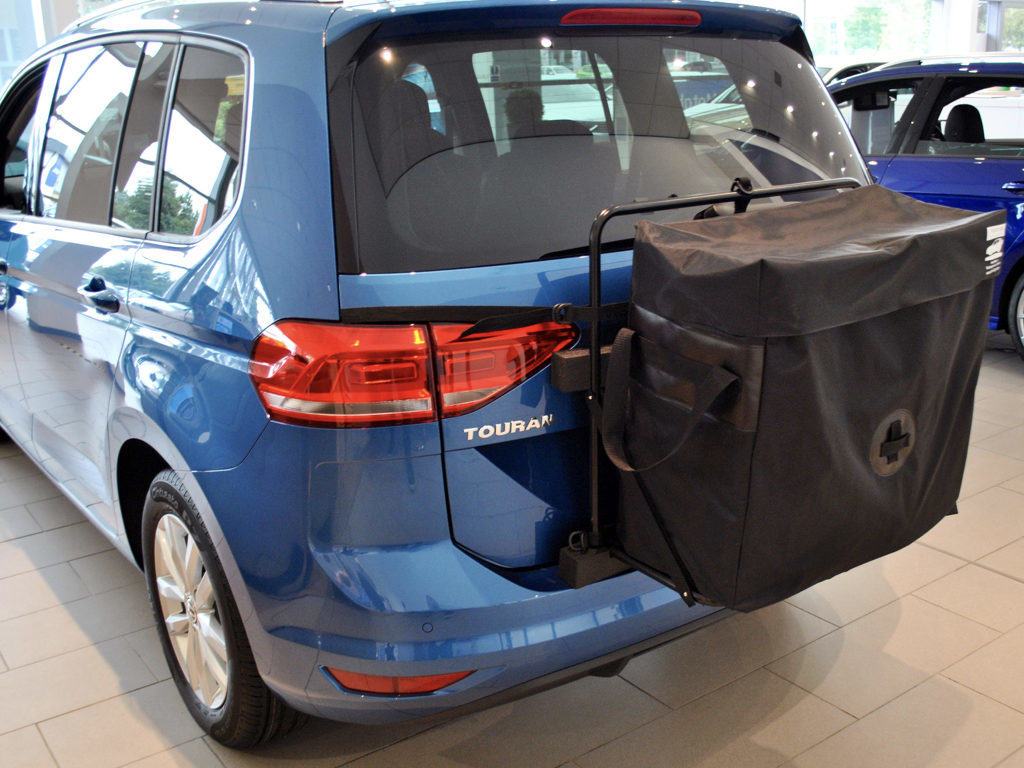 vw touran roof box