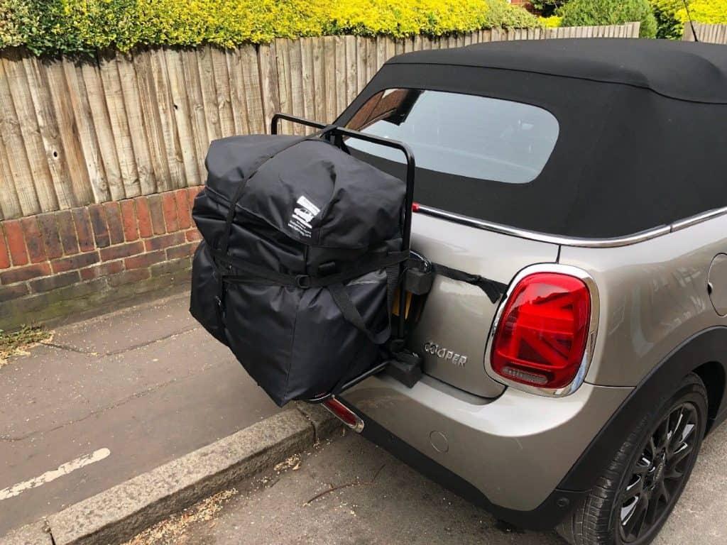 Hatch-bag Mini Convertible Luggage Rack